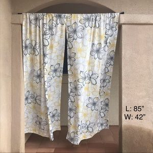 Two Panel Curtains